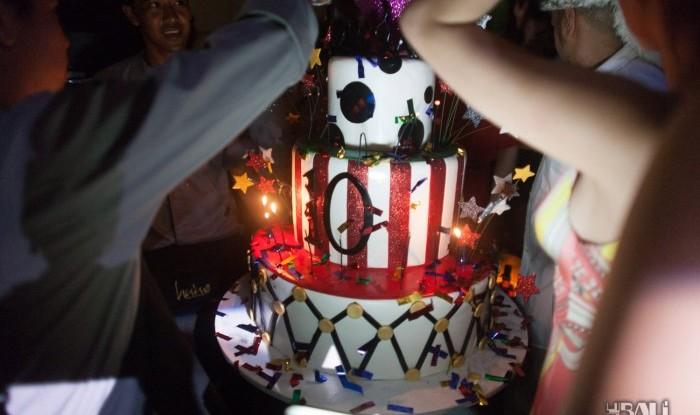 Hu'u Bar 10yr Anniversary 2011-12-10
