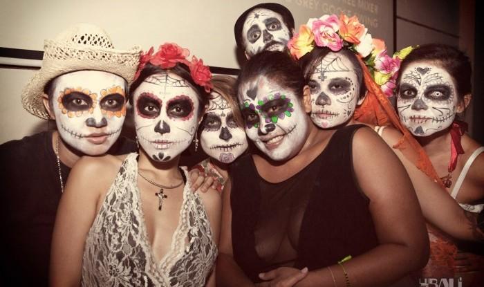 Love in Tents x Día de los Muertos @ Hu'u Bar 12-10-31