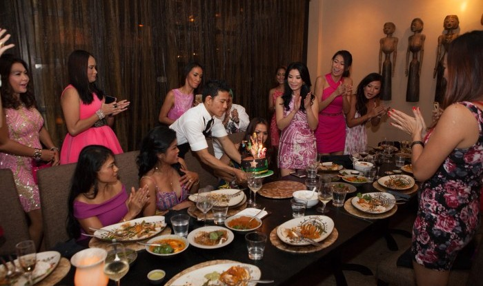 52_Birthday Dinner @Sarong 2015-09-26