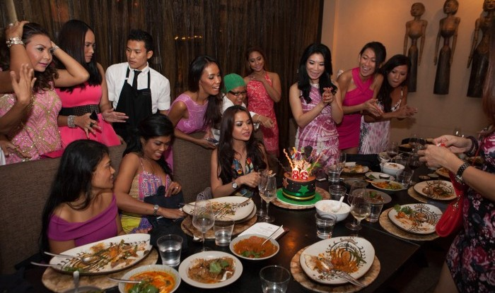54_Birthday Dinner @Sarong 2015-09-26